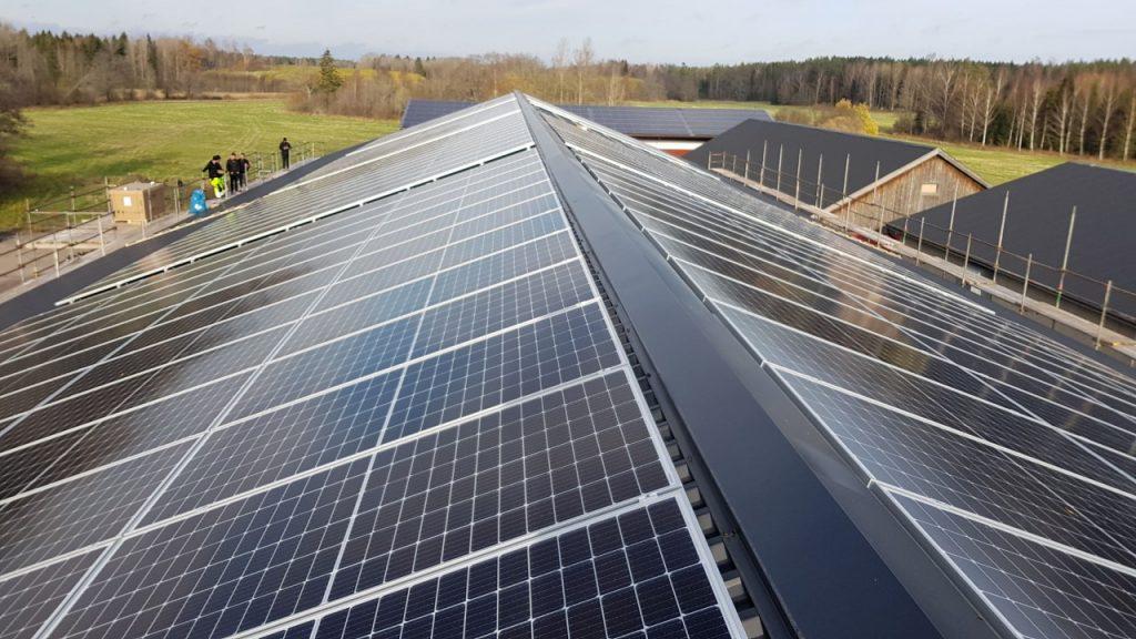 Solceller i Uppsala