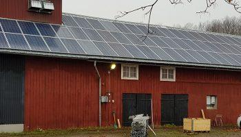 Solceller för lantbrukare