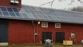 Solceller till lantbrukare