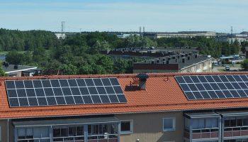 Solceller för BRF