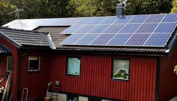 Solceller för privatpersoner